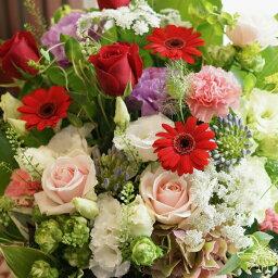 敬老の日 花束 生花 季節の花束&フラワーアレンジメント フラワーギフト 誕生日 プレゼント ギフト お祝い 結婚祝い 出産祝い ギフト 贈り物 プレゼント 敬老の日 卒業祝