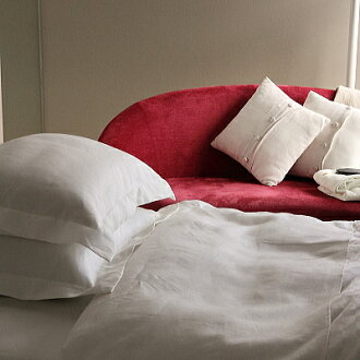 Melange linen linen bed flat sheet single-fs3gm