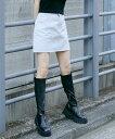 【公式】X-girl エックスガール BASIC MINI SKIRT スカート ミニ ベーシック カラー 定番 台形