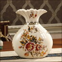 花瓶 花器 フラワーペース 花入れ 大きな アンティーク 置物 オブジェエレガントなコンポート