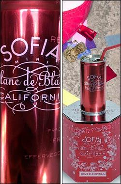 *《ソフィア コッポラ》 ミニ缶 ブラン・ド・ブラン モントレー・カウンティ [NV] フランシス・フォード・コッポラ Francis Ford Coppola Winery Sofia Mini Blanc de Blancs Sparkling wine Monterey 187ml [白ワイン泡 カリフォルニアワイン]