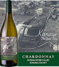"""長澤鼎(ナガサワカナエ) 《パラダイスリッジ》 シャルドネ """"カナエ・ザ・グレープキング"""" ロシアンリヴァーヴァレー [2014] Paradise Ridge Chardonnay KANAYE The Grape King Russian River Valley Sonoma County 750ml ソノマ白ワイン カリフォルニアワイン"""