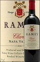 《レイミー》 クラレット ナパヴァレー [2014] (カベルネソーヴィニヨン主体) Ramey Wine Cellars Claret Napa Valley (Cabernet Sauvignon)レミー750ml [赤ワイン カリフォルニアワイン ナパバレー]