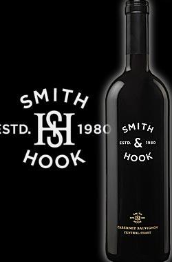 《スミス&フック by ハーン・エステイツ》 カベルネ・ソーヴィニヨン セントラル・コースト [2016] Smith & Hook Cabernet Sauvignon Central Coast by Hahn Winery 750ml [赤ワイン カリフォルニアワイン]