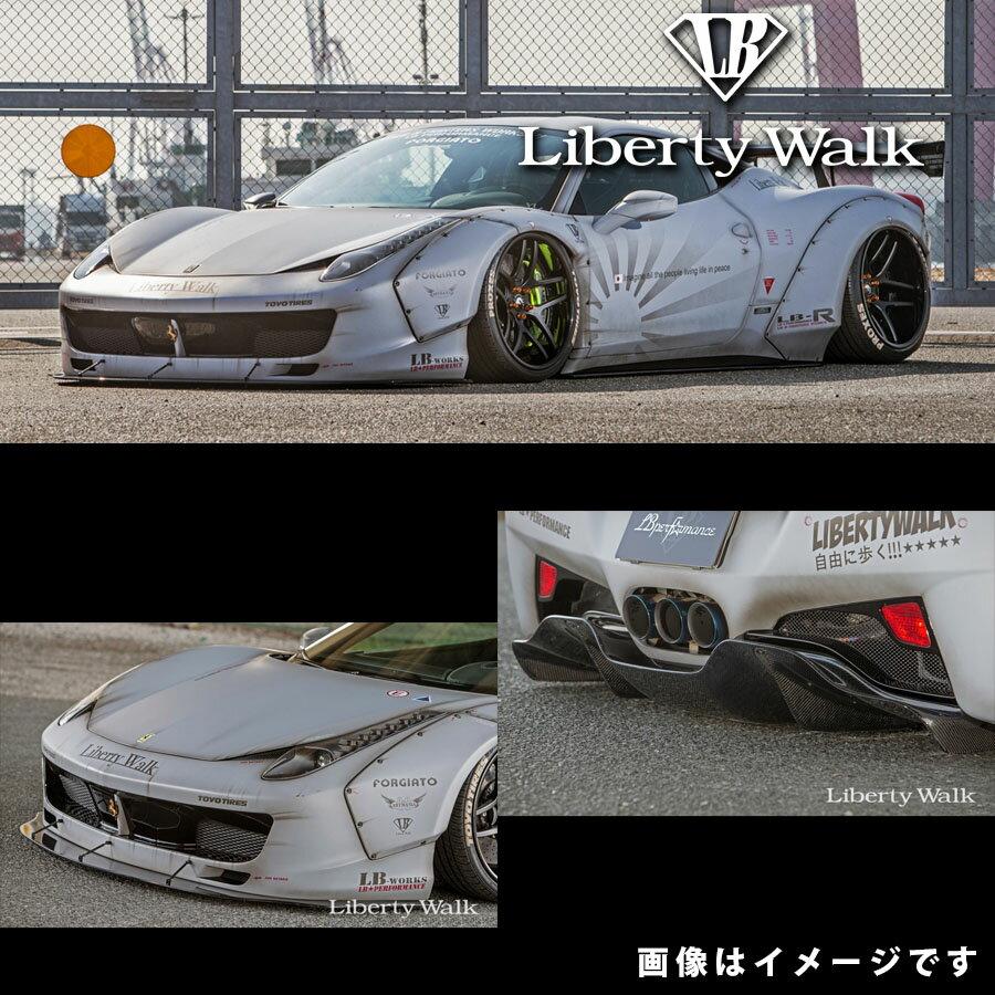 Ferrari フェラーリ 458 イタリア LB☆ワークス フルバンパー コンプリートボディキット カーボンFRP製