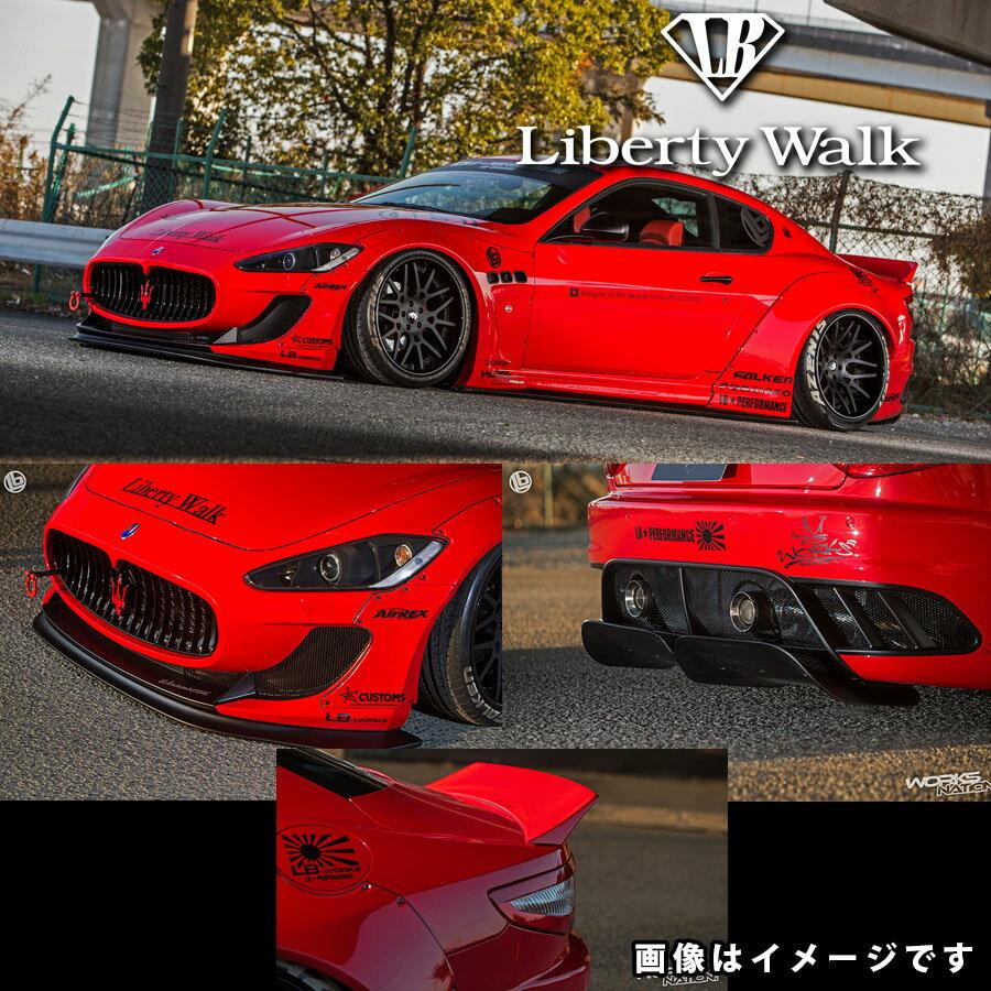 Maserati マセラティ MCストラダーレ不可 グランツーリスモ LB☆ワークス コンプリートボディキット カーボンFRP製