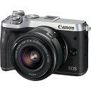 キヤノン Canon EOS M6 レンズキット シルバー SDカード付き