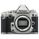 【送料無料】Nikon ニコン デジタル一眼レフカメラ Df ボディ シルバー 1201_flash