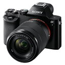 【送料無料】SONY ソニー ミラーレス一眼カメラ α7 ズームレンズキット (ILCE-7K)