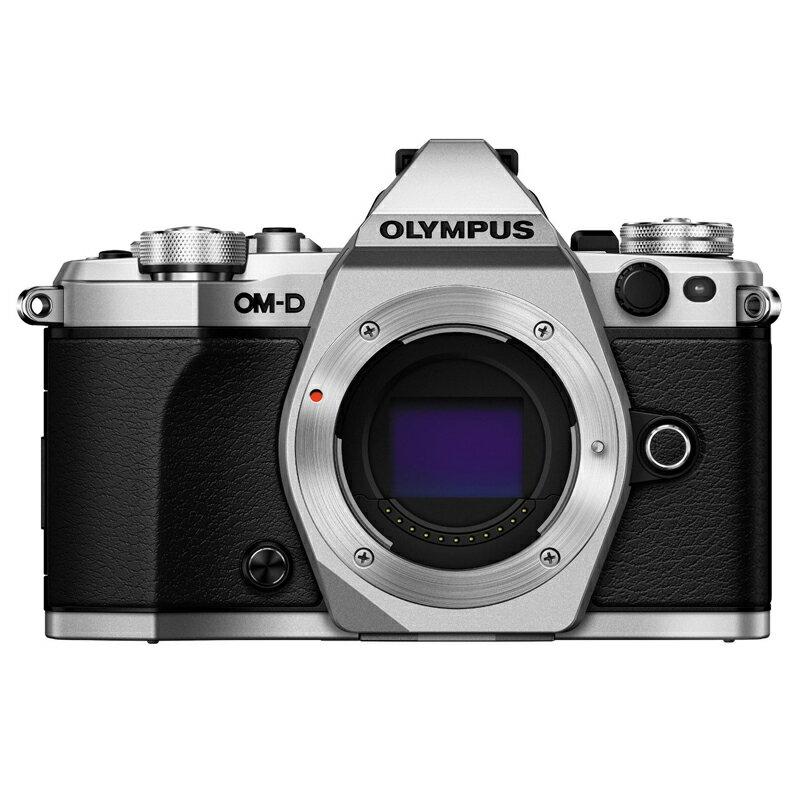 72時間限定!エントリーでポイント5倍 【送料無料】 OLYMPUS オリンパス ミラーレス一眼カメラ OM-D E-M5 Mark II ボディ シルバー