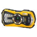 【送料無料】リコー RICOH コンパクトデジタルカメラ WG-40 イエロー (04681) 防水14m 耐ショック1.6m 耐寒-10度