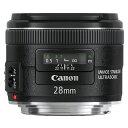 Canon キヤノン 広角単焦点レンズ EF 28mm F2.8 IS USM
