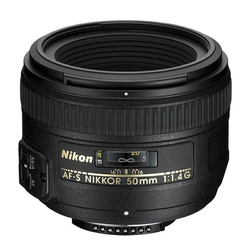 72時間限定!エントリーでポイント5倍 【送料無料】 Nikon ニコン 標準単焦点レンズ AF-S NIKKOR 50mm f/1.4G【キャッシュバック キャンペーン ¥5,000 対象!】