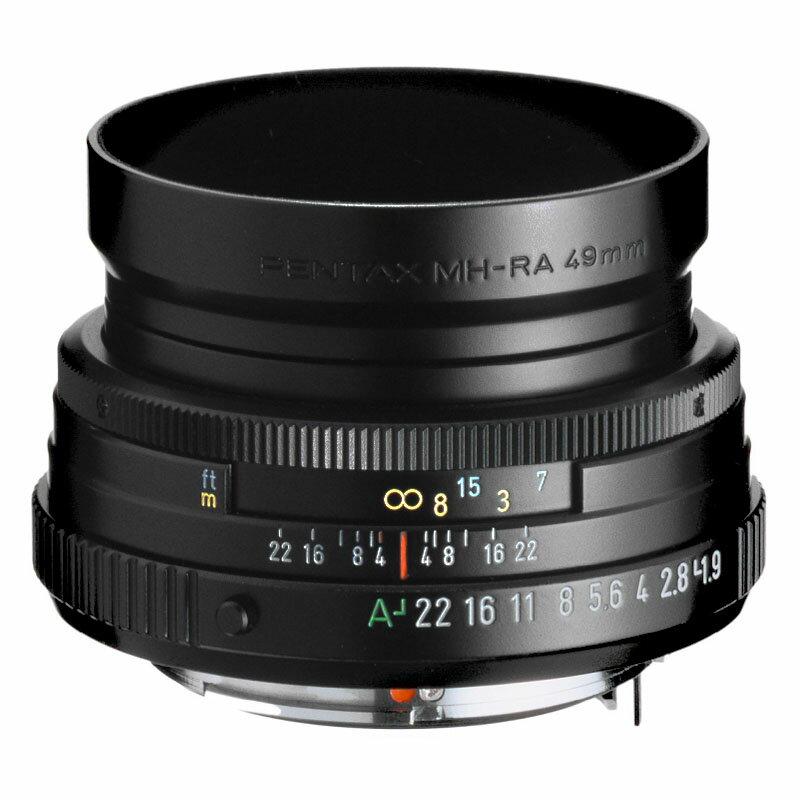 72時間限定!エントリーでポイント5倍 【送料無料】 PENTAX (ペンタックス) smc PENTAX-FA 43mm F1.9 Limited ブラック 標準単焦点レンズ