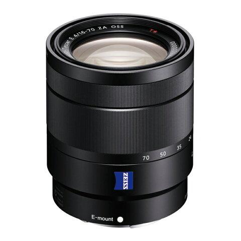 SONY ソニー 標準ズームレンズ Vario-Tessar T* E 16-70mm F4 ZA OSS SEL1670Z ミラーレス一眼カメラ用 カールツァイス