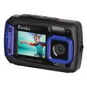 楽天カメラのさいと翔店【あす楽対応】【防水&耐衝撃でアウトドアに最適!自分撮りに便利な前面モニター付デジタルカメラ】ケンコー DSC1480DW電池別売です