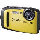 【あす楽対応】【選べる5年間延長保証対象(別料金)】フジフイルム FinePix XP90 イエロー