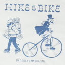 PAPER SKY x DIAGNL x Jerry UKAI コラボT / HIKE &