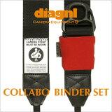 <公式>選べるカラー自由自在!/diagnl(ダイアグナル)/Ninja Camera Strap(ニンジャカメラストラップ)38mm colavo & Binder{一眼レフ}{カメラストラップ}