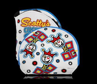 スコッティキャメロン ヘッドカバー 2015 カスタムショップ Jackpot Johnny X5 ホワイト (Scotty Cameron / パターカバー)