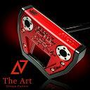 スコッティキャメロン カスタムパター X7M [NEXT] Black & Red Monster Skull ブラックメッキセンターシャフト