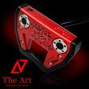 スコッティキャメロン カスタムパター X7M [NEXT] Black & Red Side Face Skull ブラックセンターシャフト