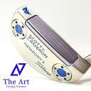 スコッティキャメロン カスタムパター ニューポート3 [Lucky Butterfly] Translucent Blue with shaft Ring