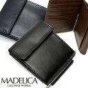 MADELICA マデリカ メンズ/財布/二つ折り財布/マネークリップ/牛革/二つ折り財布/財布/メンズ/さいふ/Men's/男性用/紳士用