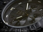 LUMINOX ルミノックス クロノグラフ 腕時計 メンズ ネイビーシ-ルズ 3081.BLACK OUT ブラックアウト LUMI-NOX うでどけい Men's ミリタリーウオッチ【送料無料】