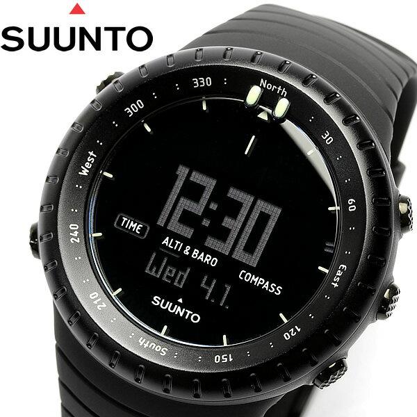【送料無料】スント SUUNTO コア Core 腕時計 オールブラック All BLAC…...:cameron:10000048