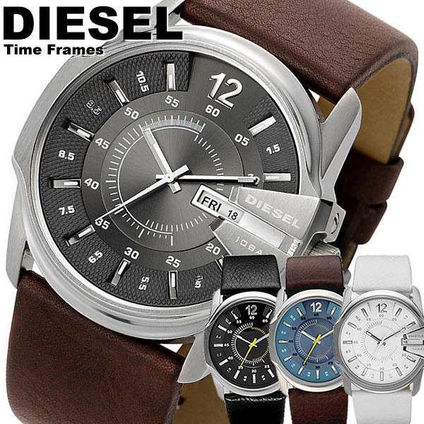 ディーゼル DIESEL 腕時計 革ベルト レザー ブラウン メンズ 腕時計 腕時計 MEN'S ウォッチ 人気 ブランド ランキング DZ1206 DZ1295 DZ1399 DZ1405
