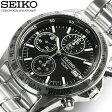 SEIKO セイコー 逆輸入 クロノグラフ メンズ 腕時計 ウォッチ うでどけい Men's クロノ 海外モデル 1/20秒高速測定モデル SND367