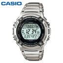 【カシオ・腕時計】ランニングウォッチ ランニング 時計 人気 CASIO スポーツギア ランニング ソーラー 時計 ランニングウオッチ W-S200HD-1AJF 国内正規品 カシオ腕時計 メンズ うでどけい MEN'S
