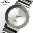 TECHNOS テクノス メンズ セラミック サファイアガラス 腕時計 TBM674TS