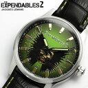 ジャックルマン Jacques Lemans メンズ 腕時計 スカル(40mm) 映画『THE EXPENDABLES2』 本革レザー