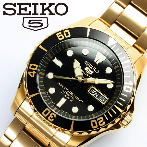 【SEIKO5 SPORTS/セイコー5 スポーツ】 腕時計 ウォッチ 自動巻き メンズ SNZF22J1 Men's うでどけい オートマティック 日本製 MADE IN JAPAN メイドインジャパン