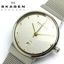 【スカーゲン SKAGEN】 腕時計 メンズ 355lgsc スカーゲン SKAGEN 腕時計 薄型 うでどけい MEN'S ウォッチ シルバー