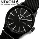 【送料無料】【NIXON】【ニクソン】 腕時計 ナイロン メンズ レディース THE SENTRY セントリー A027-1148 ブランド 人気 うでどけい ウォッチ MEN'S ユニセックス 男女兼用