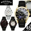 【ROMAGO/ロマゴ デザイン】 腕時計 レディース ミラーウォッチ アトラクションシリーズ メタルベルト スイス 男女兼用 メンズ RM015-0162SS うでどけい