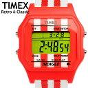 TIMEX タイメックス T2N552 ユニセックス 腕時計 ウォッチ うでとけい メンズ レディース クラシック レトロ スポーツウォッチ