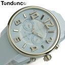 【送料無料】【テンデンス】【Tendence】 腕時計 ユニセックス 男女兼用 メンズ レディース TG765002 ライトブルー ラバー 5気圧防水 MEN'S Ladies うでどけい ウォッチ
