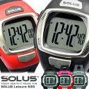 【SOLUS】 ソーラス 心拍計 腕時計 メンズ ランニング