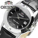 【ORIENT/オリエント】 レディース 腕時計 ウォッチ レザーベルト 革ベルト ブラック 日付表示 カレンダー 5気圧防水 レディス 女性用 ブランド うでとけい クオーツ