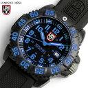 【送料無料】LUMINOX ルミノックス ネイビーシールズ カラーマークシリーズ 腕時計 メンズ ブルー 3053 LUMI-NOX うでどけい ウォッチ M'ens ミリタリーウオッチ