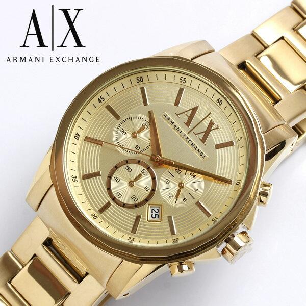 【送料無料】アルマーニ エクスチェンジ ARMANI EXCHANGE クロノグラフ 腕時計 メンズ AX2099 うでどけい 男性用 MEN'S クロノ