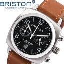 【送料無料】BRISTON ブリストン 腕時計 メンズ クロノグラフ ミリタリー 本革レザーベルト クラシック ブランド 人気…
