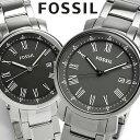 【FOSSIL】 フォッシル 腕時計 メンズ ブラック グレー メタル 5気圧防水 BQ1010 BQ1013 海外限定モデル 人気 ブランド ウォッチ Men...