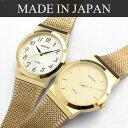 クロトン CROTON 腕時計 メンズ ステンレス クォーツ シンプル ゴールド 日本製 メイドインジャパン Made in JAPAN RT-119M