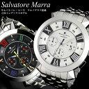 【Salvatore Marra/サルバトーレマーラ】 腕時計 メンズ クロノグラフ 立体インデックス ステンレス SM14107 ウォッチ うでどけい MEN...