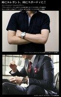 【SalvatoreMarra】サルバトーレマーラ腕時計メンズクロノグラフ10気圧防水コンビベルトSM15104限定モデル人気ブランドウォッチクリスマスギフトプレゼント